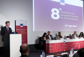 FSG's Acceder programme is referred to again as an EU best practice at the eighth meeting of the European Platform for Roma Inclusion