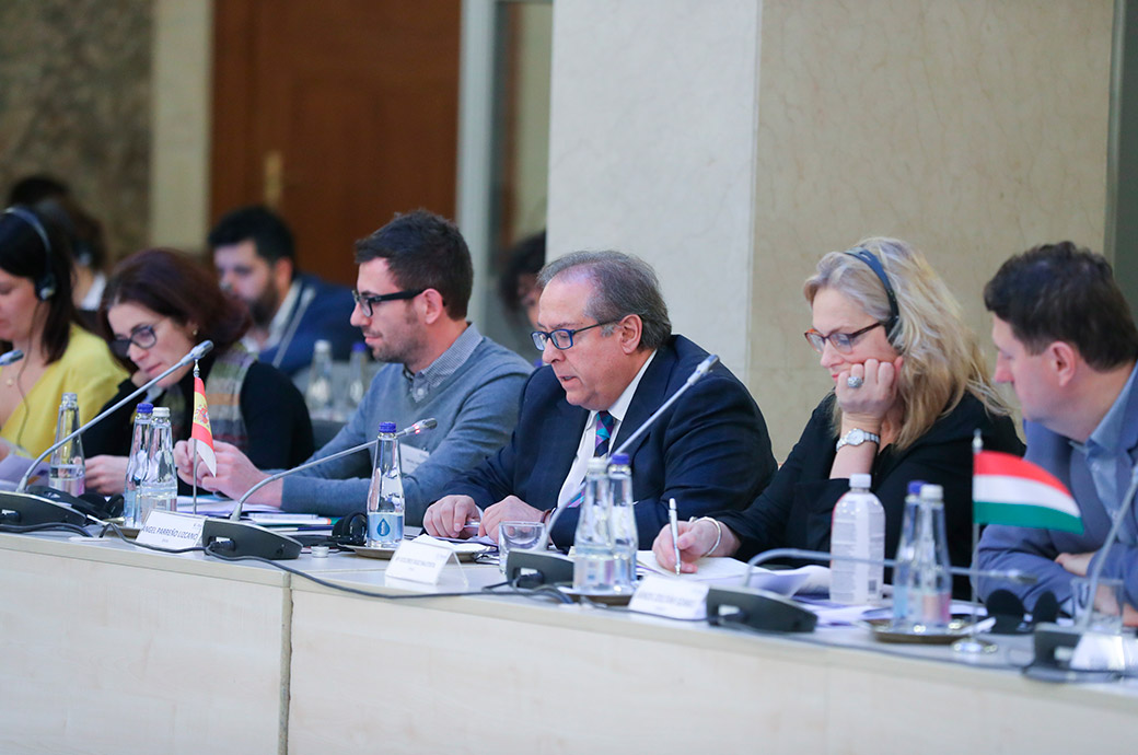 Reunión del Comité de Dirección en Budapest