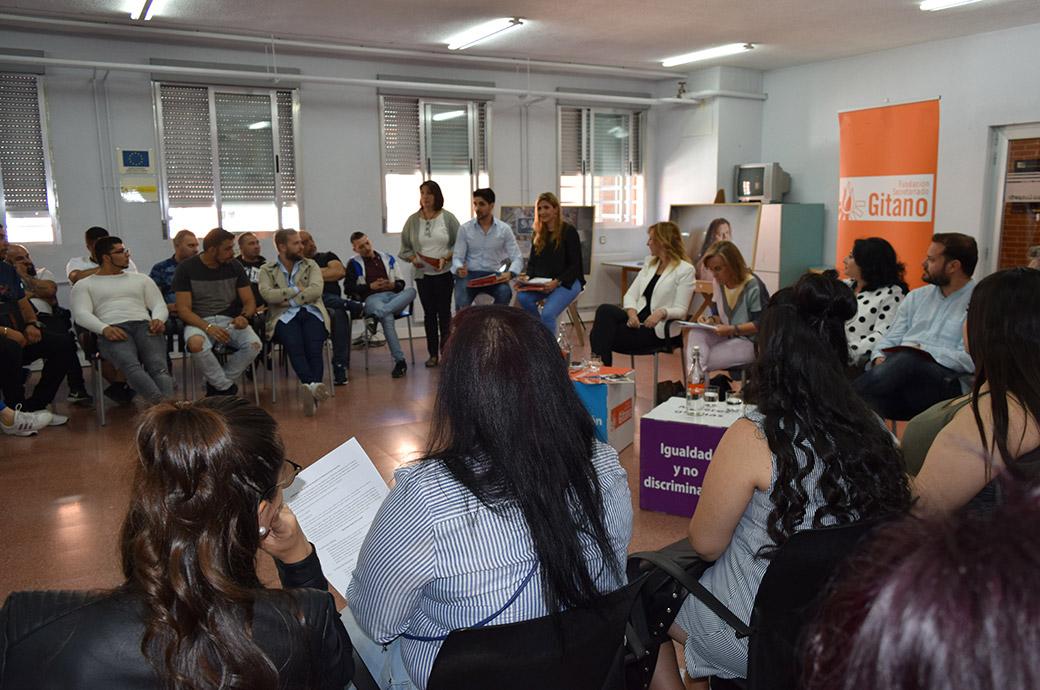 Acción Local en Madrid debate con políticos en el marco de las elecciones locales y autonómicas