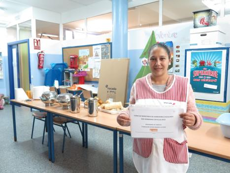 The course of Monitor of school canteens carried out in Dos Hermanas (Seville) is finished