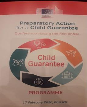 The FSG participates at the European Conference for the preparation of the Child Guarantee