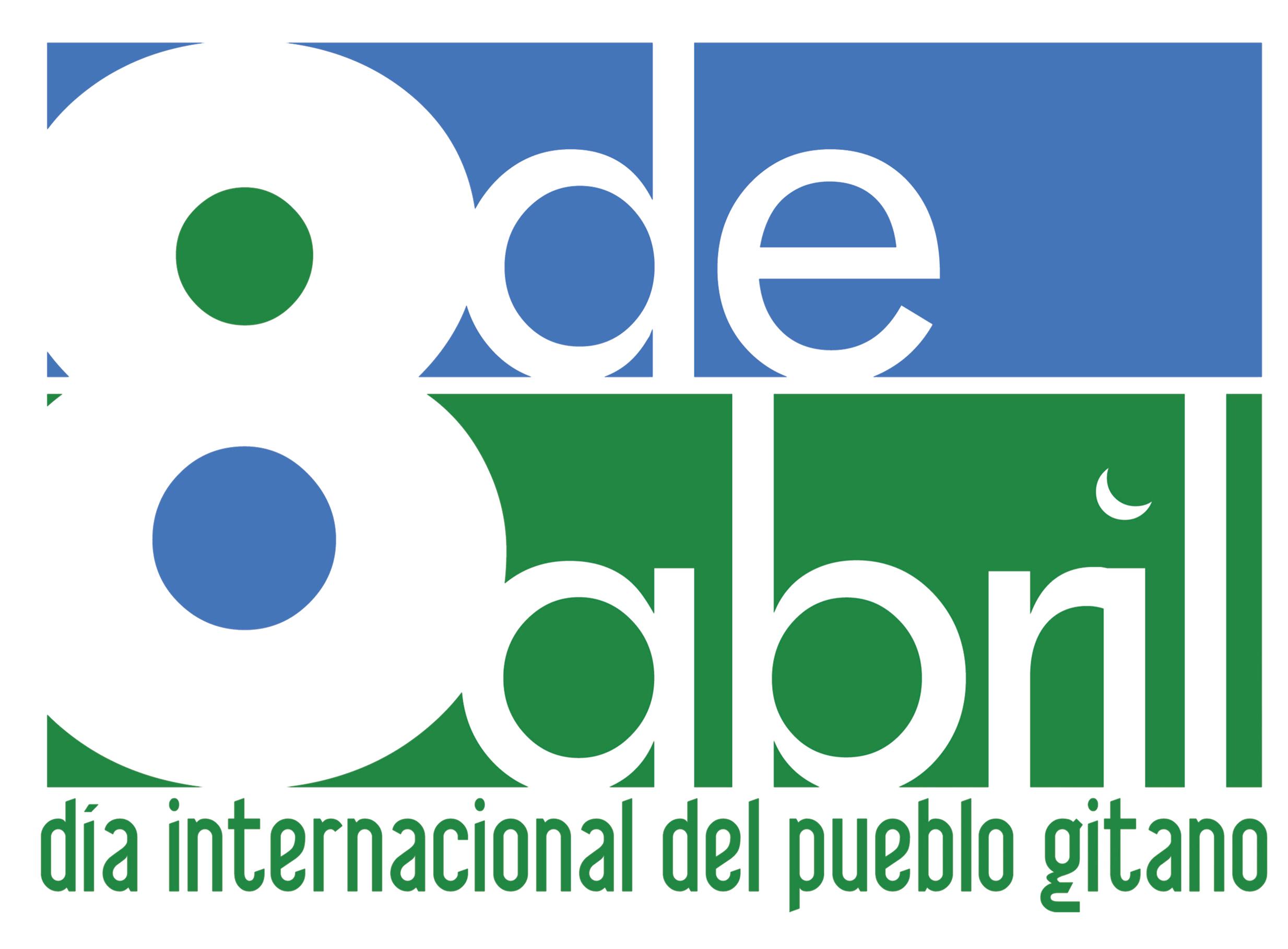 e84612624e18 La bandera gitana  Logotipo 8 de abril Logotipo 8 de abril ...