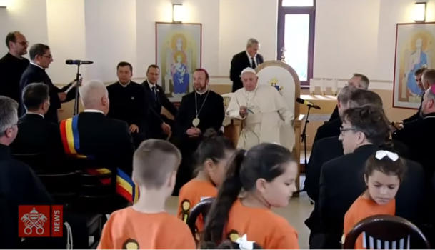 Pope Francis apologizes for the discrimination, segregation and mistreatment of Roma<br><br>