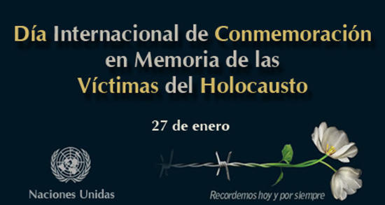 January 27th, International Day of Commemoration in Memory of the Victims of the Holocaust