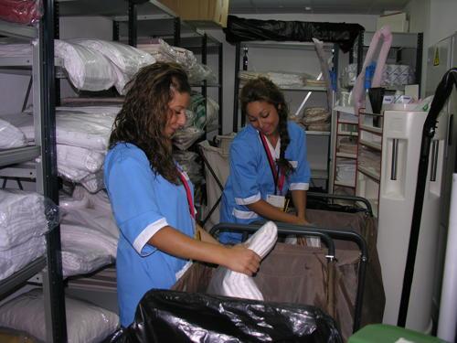 Una camarera de piso en cryptorich for Camarera de pisos sueldo