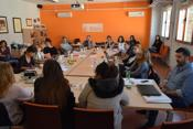 A delegation of European NGOs pay us a visit to learn about our work in employment and education
