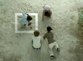 "Single frame of the campaign spot ""Employment makes us equal"", which received the award for Best Cinema and Television Spot at the Publifestival of Malaga."